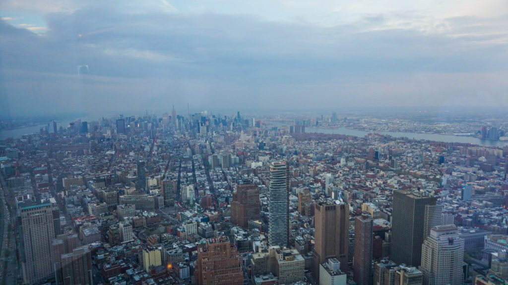 View of Manhattan from the One World Trade Center